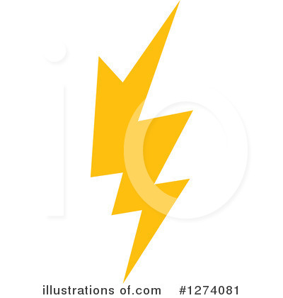 Lightning Clipart #1274081 by Vector Tradition SM