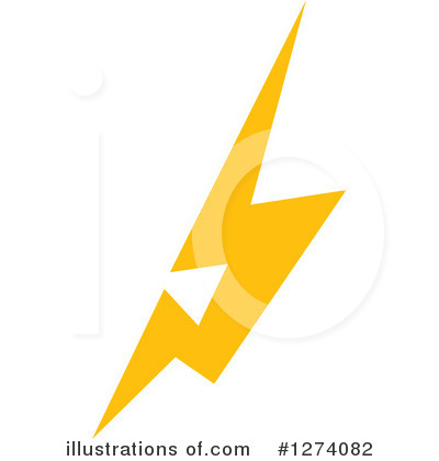 Royalty-Free (RF) Lightning Clipart Illustration by Vector Tradition SM - Stock Sample #1274082