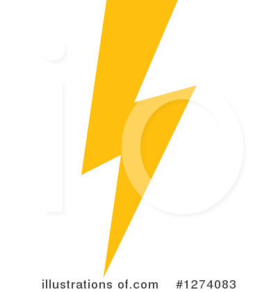Lightning Clipart #1274083 by Vector Tradition SM
