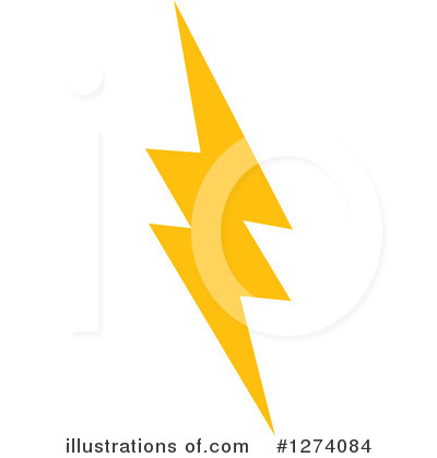 Lightning Clipart #1274084 by Vector Tradition SM