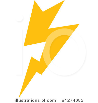 Lightning Clipart #1274085 by Vector Tradition SM