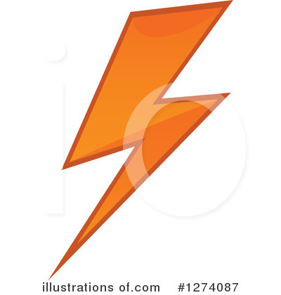Lightning Clipart #1274087 by Vector Tradition SM