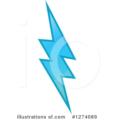 Lightning Clipart #1274089 by Vector Tradition SM