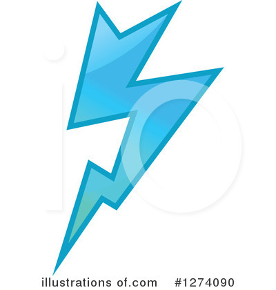 Lightning Clipart #1274090 by Vector Tradition SM