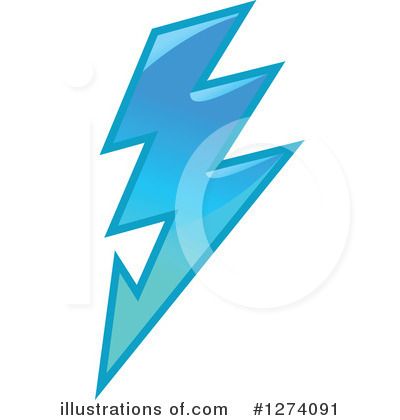 Lightning Clipart #1274091 by Vector Tradition SM