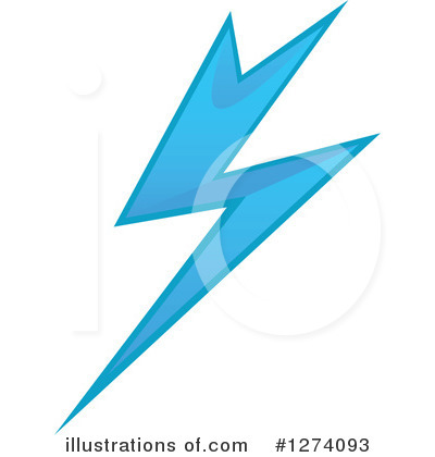 Lightning Clipart #1274093 by Vector Tradition SM