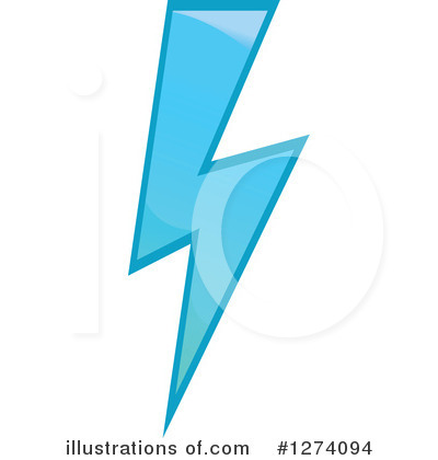 Lightning Clipart #1274094 by Vector Tradition SM