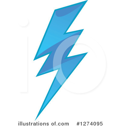 Lightning Clipart #1274095 by Vector Tradition SM