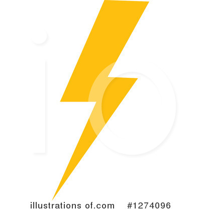 Lightning Clipart #1274096 by Vector Tradition SM