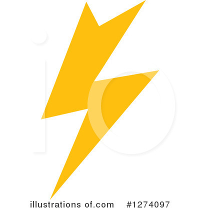 Lightning Clipart #1274097 by Vector Tradition SM