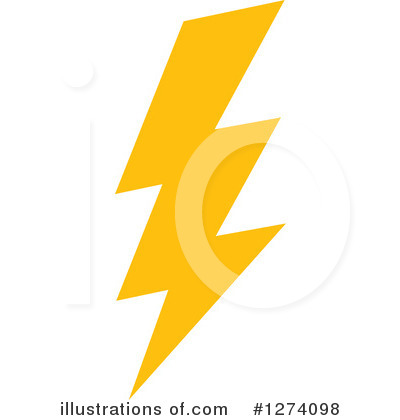Lightning Clipart #1274098 by Vector Tradition SM