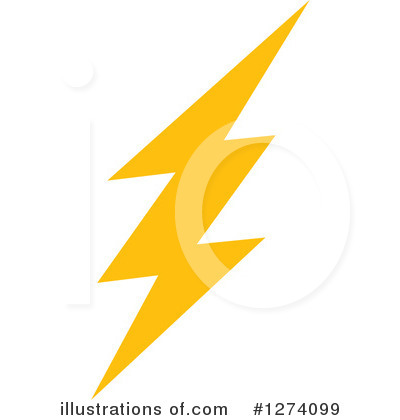 Lightning Clipart #1274099 by Vector Tradition SM