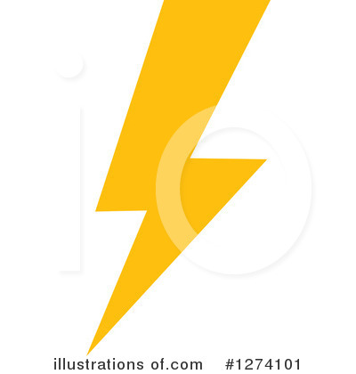 Lightning Clipart #1274101 by Vector Tradition SM