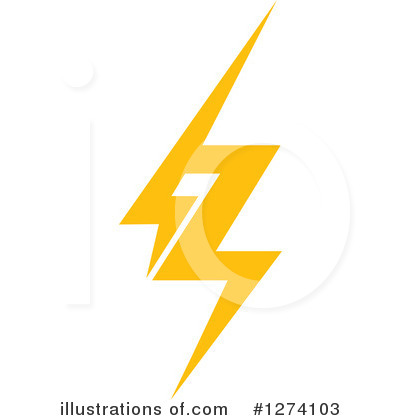 Lightning Clipart #1274103 by Vector Tradition SM