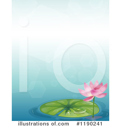 Water Lily Clipart #1190241 by Graphics RF