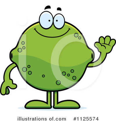 Limes Clipart #1125574 by Cory Thoman