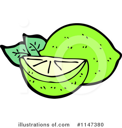 Limes Clipart #1147380 by lineartestpilot