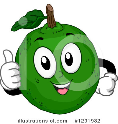 Limes Clipart #1291932 by BNP Design Studio