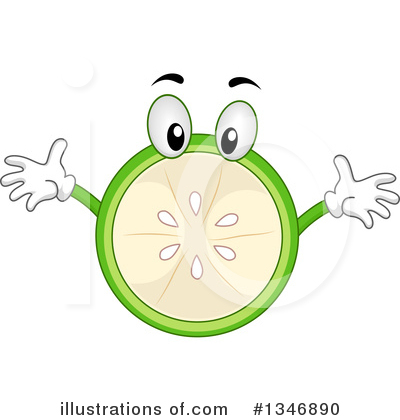 Lime Clipart #1346890 by BNP Design Studio