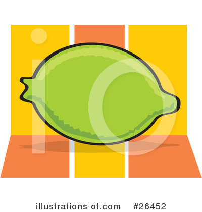 Lime Clipart #26452 by David Rey