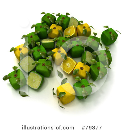 Royalty-Free (RF) Lime Clipart Illustration by Frank Boston - Stock Sample #79377