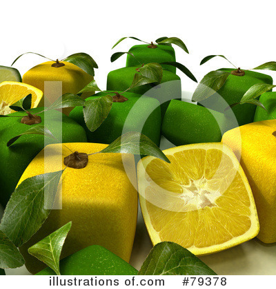 Limes Clipart #79378 by Frank Boston
