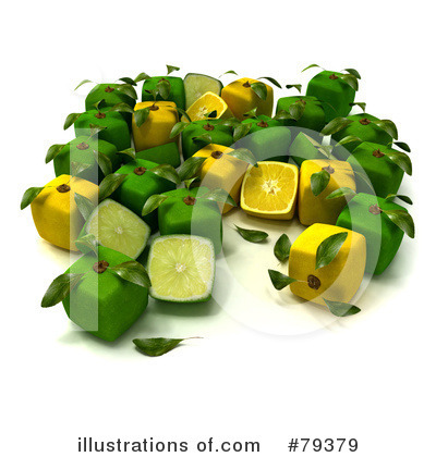 Limes Clipart #79379 by Frank Boston