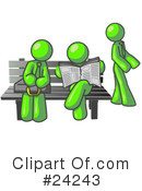Lime Green Collection Clipart #24243
