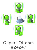 Lime Green Collection Clipart #24247 by Leo Blanchette