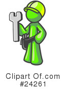 Lime Green Collection Clipart #24261
