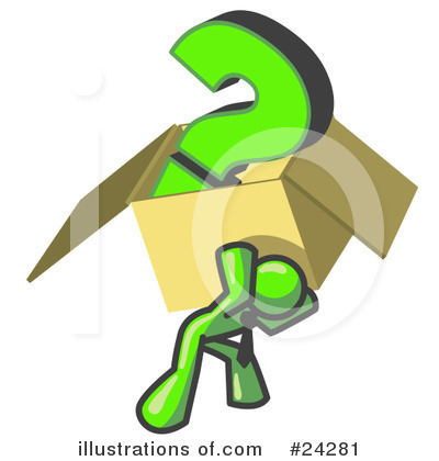 Question Mark Clipart #24281 by Leo Blanchette