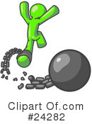 Royalty-Free (RF) Lime Green Collection Clipart Illustration #24282