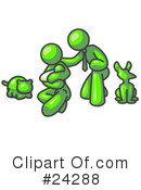 Lime Green Collection Clipart #24288 by Leo Blanchette