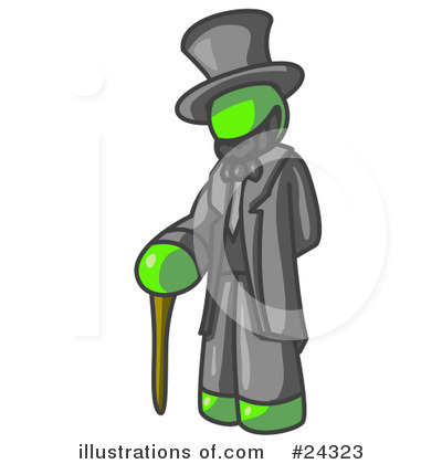 Abraham Lincoln Clipart #24323 by Leo Blanchette
