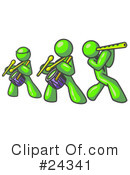 Lime Green Collection Clipart #24341