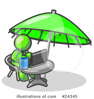 Vacation Clipart #24345 by Leo Blanchette