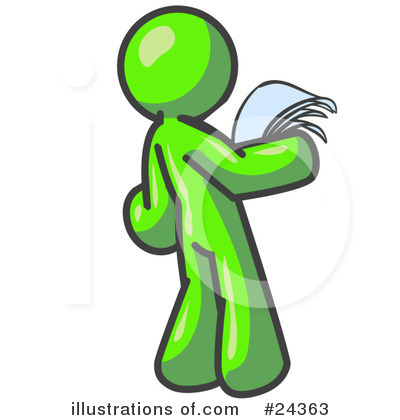 Lime Green Collection Clipart #24363 by Leo Blanchette