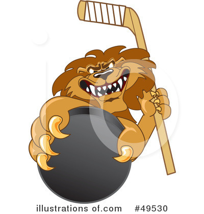 Lion School Mascot Clipart #49530 by Toons4Biz