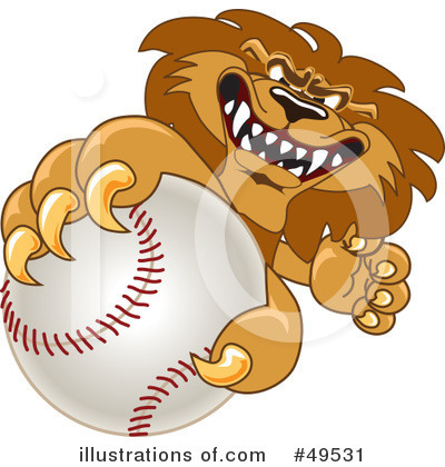Lion School Mascot Clipart #49531 by Toons4Biz