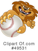 Lion Character Clipart #49531 by Toons4Biz