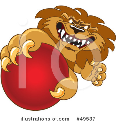 Lion Character Clipart #49537 by Toons4Biz