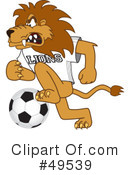 Lion Character Clipart #49539 by Toons4Biz