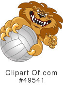 Lion Character Clipart #49541 by Toons4Biz