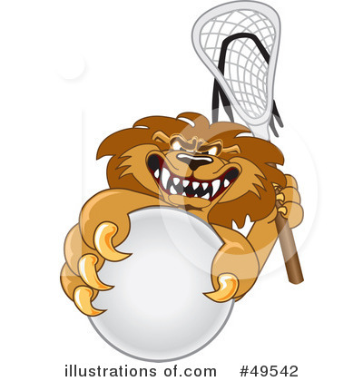 Lion School Mascot Clipart #49542 by Toons4Biz