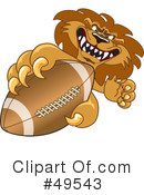 Lion Character Clipart #49543 by Toons4Biz