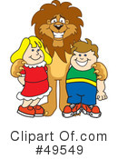 Lion Character Clipart #49549 by Toons4Biz