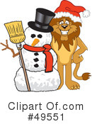 Lion Character Clipart #49551 by Toons4Biz