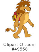 Lion Character Clipart #49558 by Toons4Biz