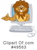 Lion Character Clipart #49563 by Toons4Biz