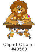 Lion Character Clipart #49569 by Toons4Biz